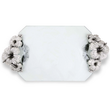 Hibiscus Flower Glass Tray | Vagabond House | J408HF