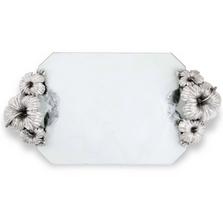 Hibiscus Flower Glass Tray | Vagabond House | J408HF