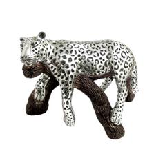 Leopard Resting Silver Plated Sculpture | 8043 | D'Argenta