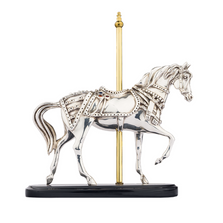 Carousel Horse Silver Plated Figurine | 8032 | D'Argenta