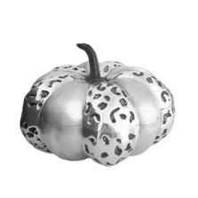 Pumpkin Silver Plated Lidded Bowl   U-5   D'Argenta