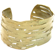 Birch Bark Bronze Cuff Bracelet | Michael Michaud Jewelry | SS7116BZ -2