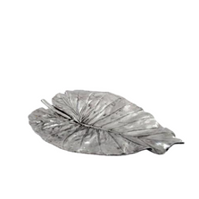 Elephant Ear Leaf II Silver Plated Fruit Bowl Centerpiece | U-34 | D'Argenta