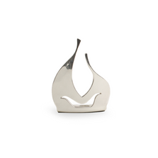 Abstract Nativity Silver Plated Candle Holder | 64 | D'Argenta