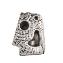 Abstract Parrot Toznene Silver Plated Sculpture | RV24 | D'Argenta