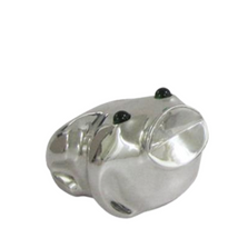 Frog Small Silver Plated Sculpture | RV25 | D'Argenta