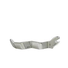 Snake Zig Zag Coatl Silver Plated Sculpture | RV08 | D'Argenta