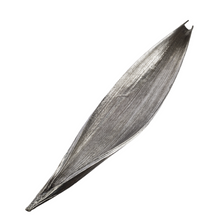 Palm Leaf Silver Plated Large Fruit Bowl Centerpiece | U-44 | D'Argenta