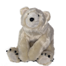 Plush Polar Bear | Ditz Designs | DIT40596