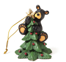 Tree Topper Bear Ornament |Big Sky Carvers | BSC