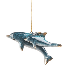 Cozumel Reef Mom and Baby Dolphin Ornament | ORN73514