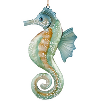 Seafoam Seahorse Ornament | Gallerie II Designs| ORN71084