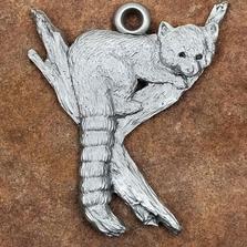 Red Panda Pewter Christmas Ornament | Andy Schumann | SCHREDPANDA