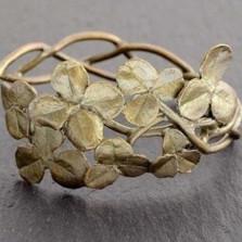 Clover Cuff Bracelet | Michael Michaud Jewelry | SS7192BZ -2