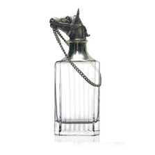 Carved Pewter Horse Classic Decanter | Menagerie | MCWD-O1051