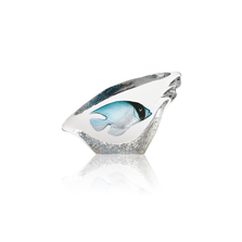 Coral Fish Turquoise Crystal Sculpture | 34294 | Mats Jonasson Maleras