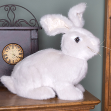 Natural Brown Stuffed Rabbit Hug Bunny | Ditz Designs | DIT40610
