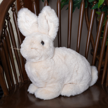 Vanilla Cream Stuffed Rabbit Hug Bunny | Ditz Designs | DIT40630