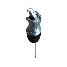 Stainless Steel Carved Eagle Wine Pourer - Aerator | Menagerie | M-SSPE2-063