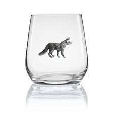 Crab Stemless Wine/Cognac Glass Set of 2 | Menagerie | M-SRW1-FX105