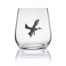 Duck Stemless Wine/Cognac Glass Set of 2 | Menagerie | M-SRWD2-060