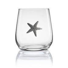 Starfish Stemless Wine/Cognac Glass Set of 2 | Menagerie | M-SRWS94-406