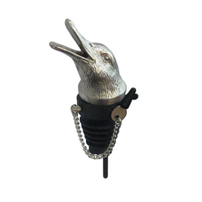 Stainless Steel Carved Duck Whiskey/Spirits Pourer - Aerator | Menagerie | M-MWSP-D0601