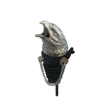 Stainless Steel Carved Hawk Whiskey/Spirits Pourer - Aerator | Menagerie | M-MWSP-E0631
