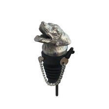 Stainless Steel Carved Labrador Whiskey/Spirits Pourer - Aerator | Menagerie | M-MWSP-L0661