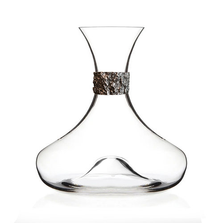 Oak Bark Crystal Wine Decanter | Menagerie | M-MWD-O1918