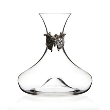 Butterfly Crystal Wine Decanter | Menagerie | M-MWD-H2117