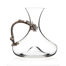 Acorn Crystal Wine Decanter | Menagerie | M-MWD-A1916