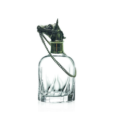 Carved Pewter Horse Modern Decanter | Menagerie
