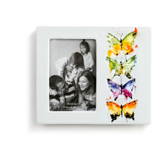 Four Butterflies Stoneware Photo Frame | Big Sky Carvers | BSCB1004610082