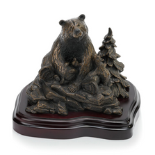"Bear Sculpture ""Spring Cubs"" 