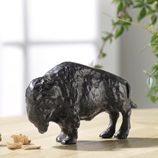 Bold Bison Sculpture | SPI Home | 51149