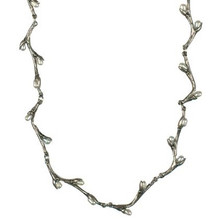 Pussy Willow Sterling Silver Necklace | Michael Michaud Jewelry | SS7554sswp -2