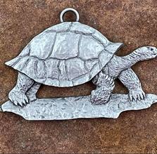 Land Tortoise Pewter Ornament | Andy Schumann | SCHLANDTORTORN