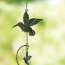 "Hummingbird Trio ""Take Flight"" Wind Chime 