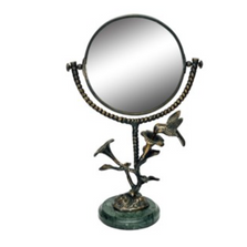 Hummingbird and Flower Vanity Mirror | 41038 | SPI Home