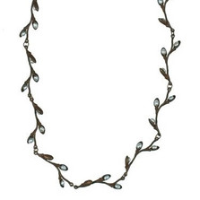 Pussy Willow Delicate Necklace | Michael Michaud Jewelry | SS7612bzwp -2