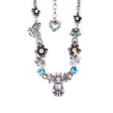 Rabbit Pewter Necklace | Nature Jewelry | NK-9540-LM