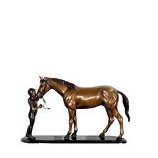 Female Jockey & Horse | Metropolitan Galleries | SRB41801