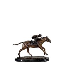 Jockey on Horse | Metropolitan Galleries | SRB41095