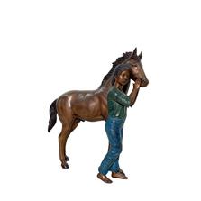 Girl and Pony | Metropolitan Galleries | SRB48709