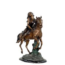 'Free Spirit' on Horse | Metropolitan Galleries | SRB49239