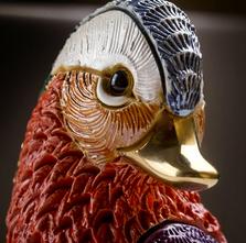 Mandarin Duck Ceramic Figurine | De Rosa | Rinconada | F230
