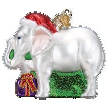 White Elephant Glass Ornament | 12592
