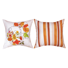 Whimsy Leaves Turkey Throw Pillow | SLWMT