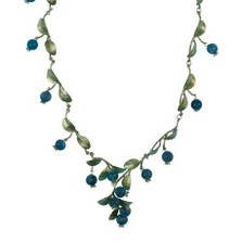 Blueberry Necklace | Michael Michaud Jewelry | SS7772bzbc -2